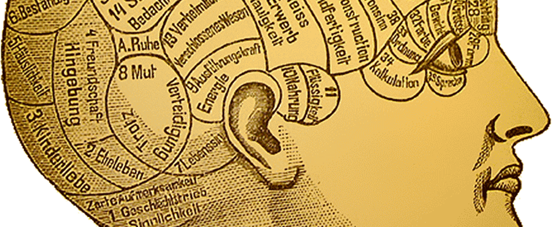 Phrenology head feature image
